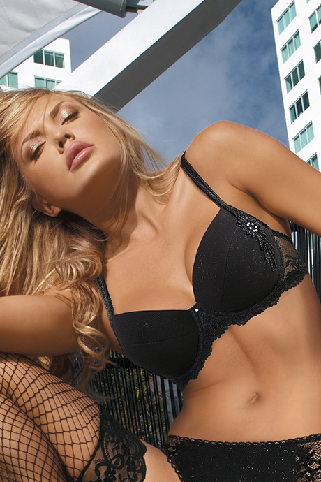 фото Бюст push Kinga Neon M-2320 Черный